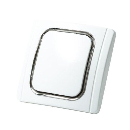 Saugdose Olympia. Quadratische Form mit runde Kanten. eine dünne Linie mit Silber oder einer anderen Farbe um den Deckel.