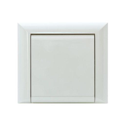 Die Saugdose Elegance für Zentralstaubsaugeranlagen fügt sich dezent in Ihren Wohnraum ein und passt zu vielen Schalterprogrammen. Weiße und quadratische Saugdose.