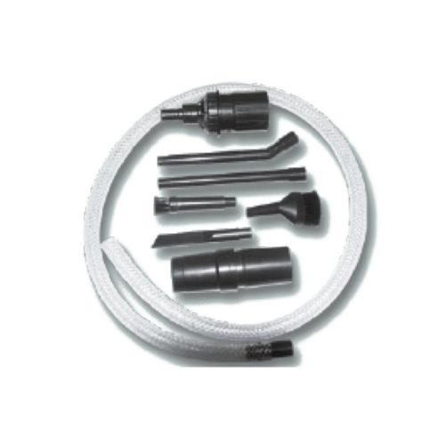 """Saugdüsen-Set """" Mikrokit """" beinhaltet transparenter, flexibler Saugschlauch, 1 Anschlussmuffe für den Handgriff, 1 Adaptermuffe, 213cm langeDüsen: gerade und gebogen, 2 Bürstenaufsätze: rund und oval & 1 Fugendüse"""